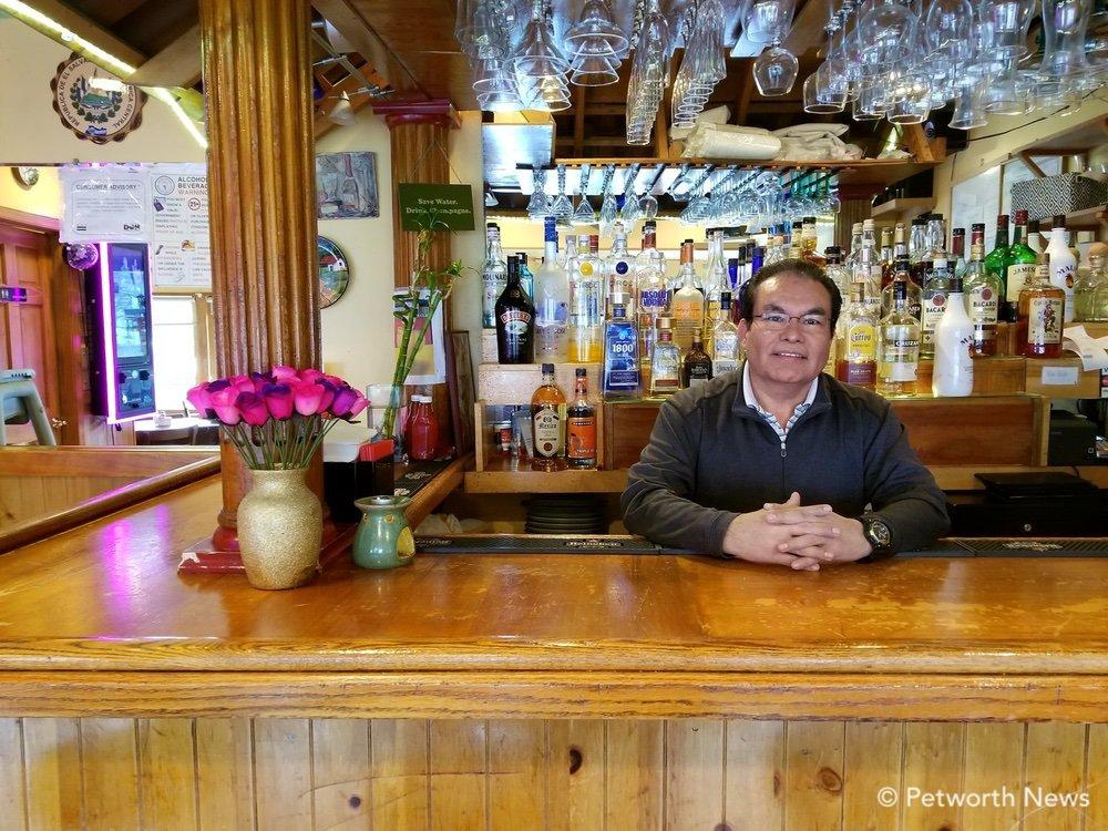 El Torogoz owner David Ventura opened the restaurant in 2000.