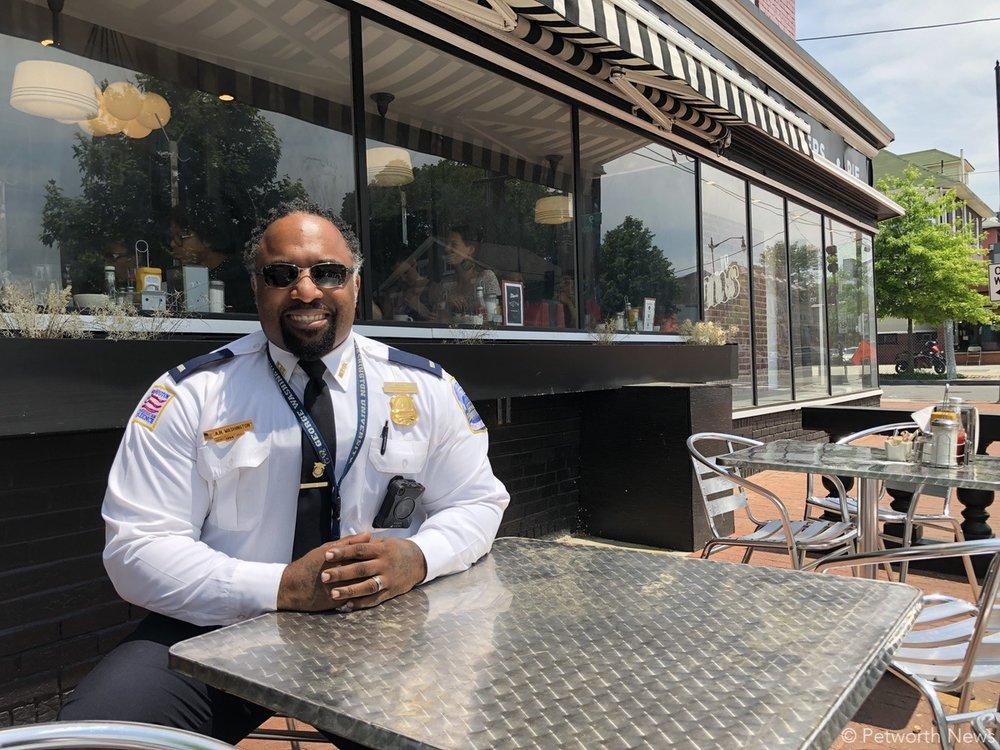 PSA 407 Lieutenant Anthony Washington