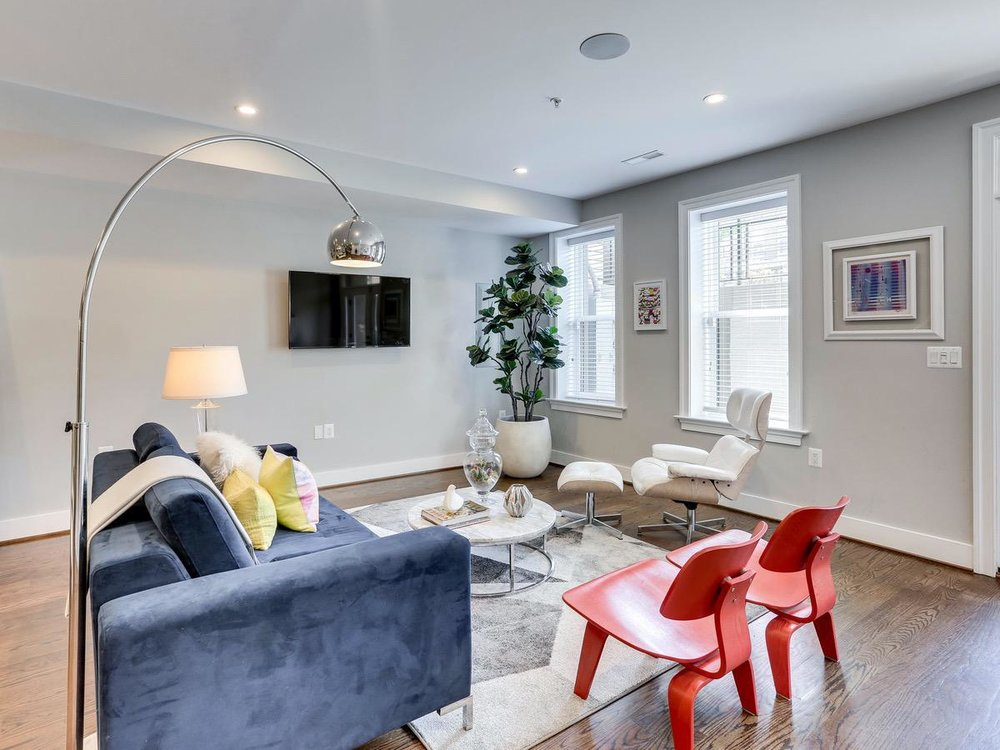 An open layout makes 415 Randolph great for entertaining