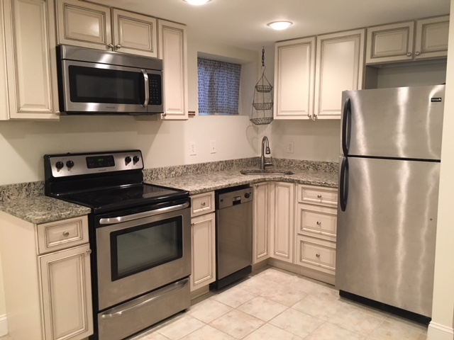 A great kitchen awaits in this charming basement apartment right in the heart of Petworth.