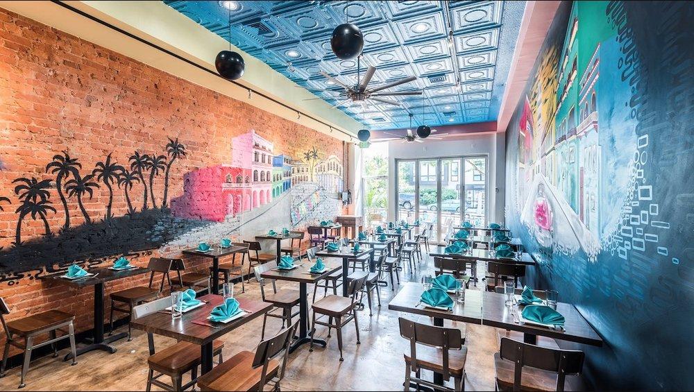 Inside Little Havana (photo: Rey Lopez/Eater DC