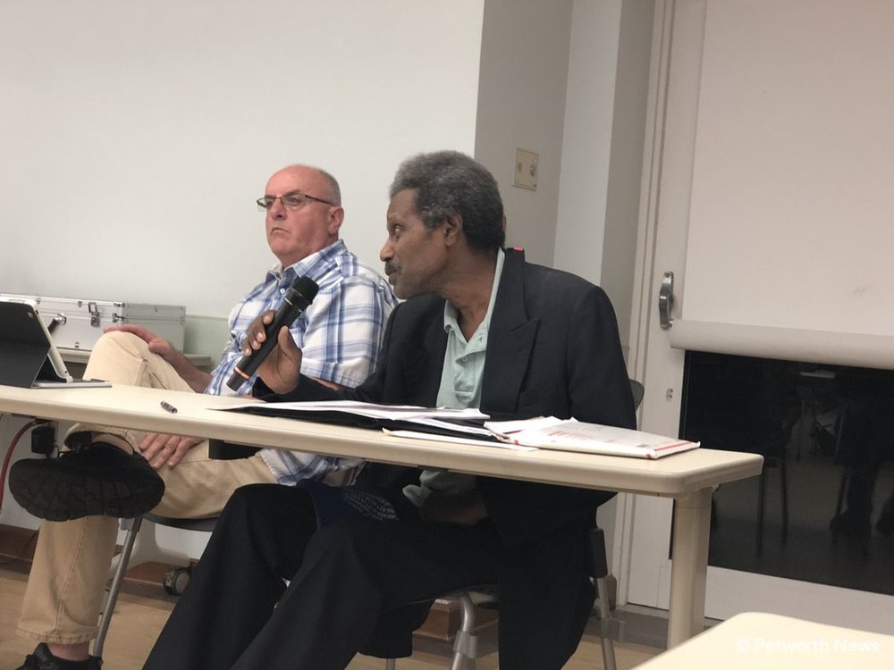 ANC 4C08 Commissioner Timothy Jones at a recent ANC meeting.