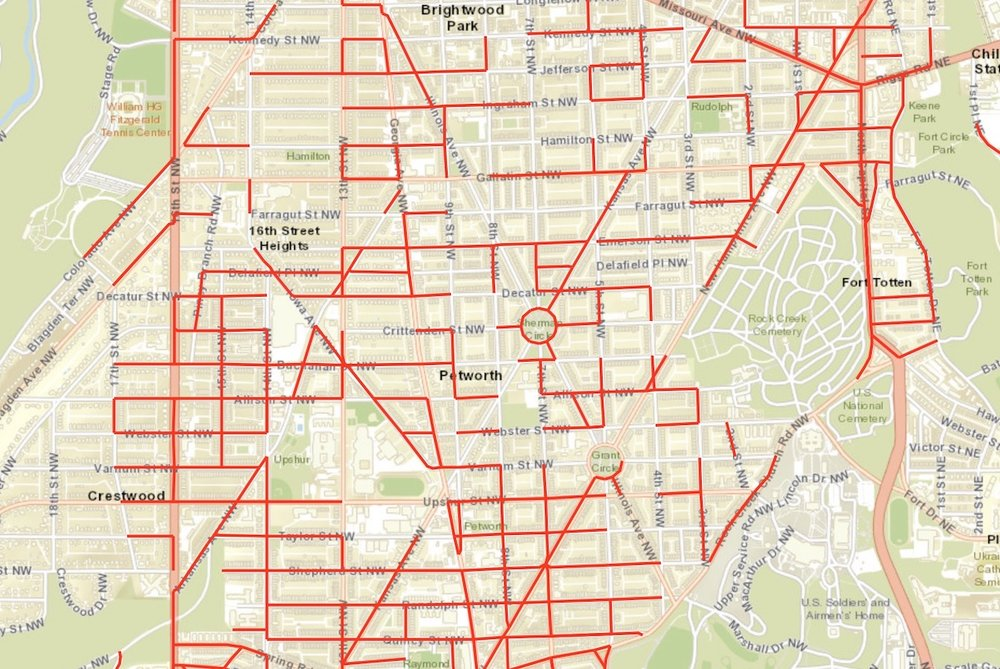 DDOT offers an interactive map of residential parking permit zones. (courtesy DDOT)