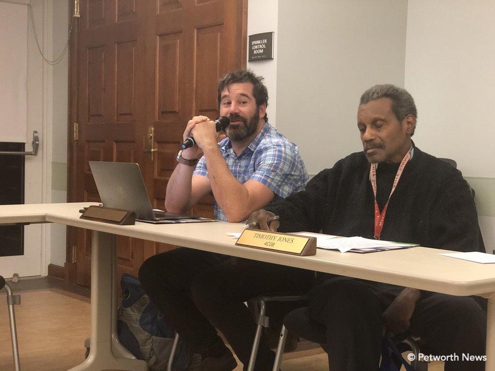 Commissioners Michael Halpern and Timothy Jones