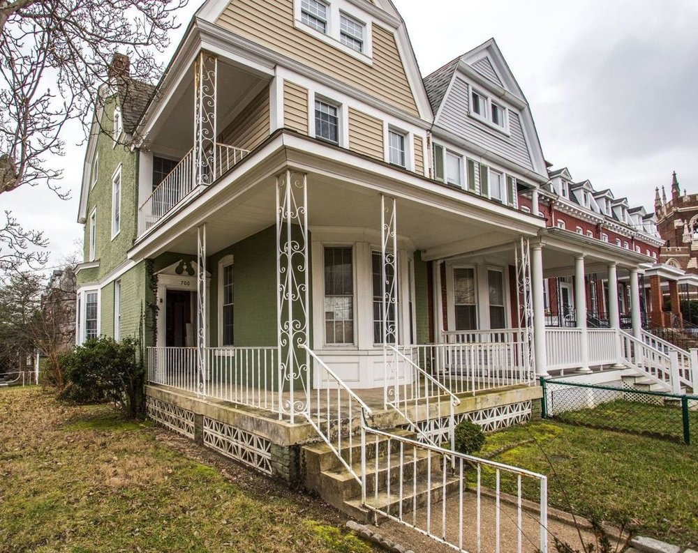 700 Randolph Street NW offers beautiful original wood elements and is ready to be restored.