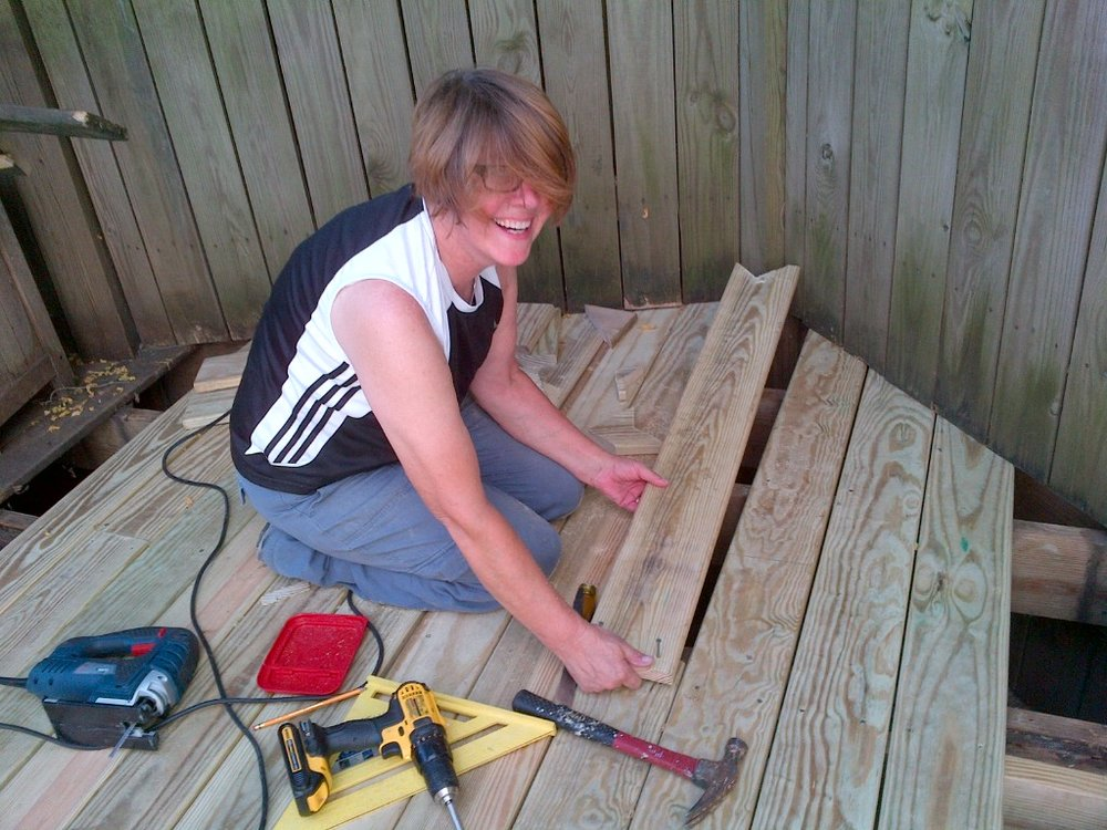 Anne's desire to take on home projects, and the frustration with finding a local hardware store, led her to open her own.