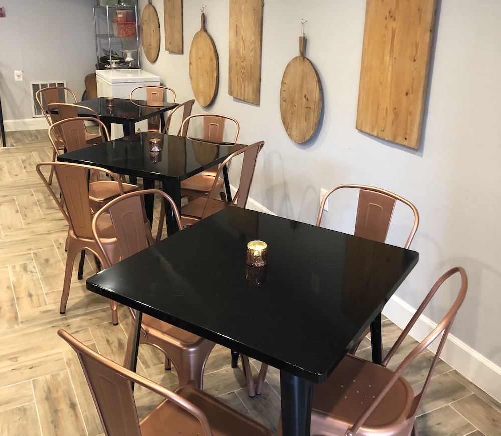 A small, intimate space for small plates, wine and beer pairings and private events.