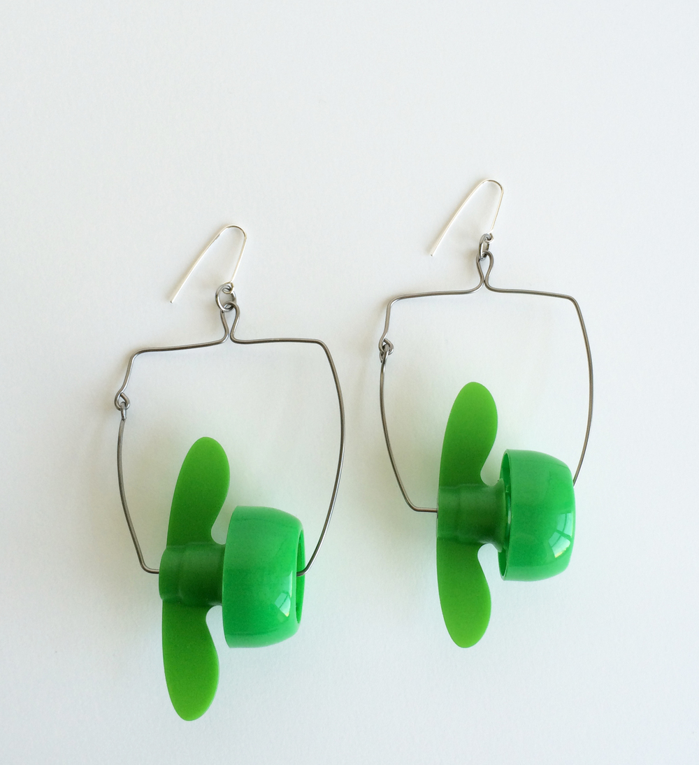 Propellor Earrings