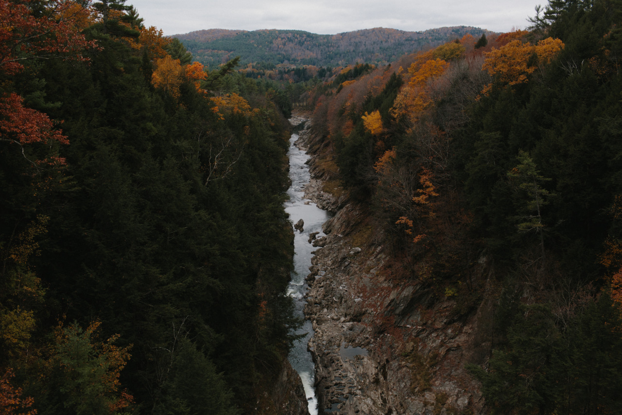 Queeche Gorge, Vermont // October 2013