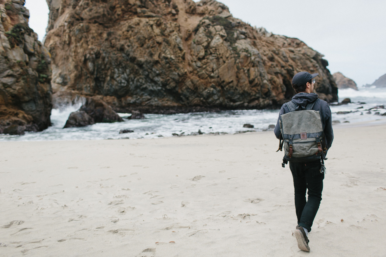 Isaac // Pfieffer Beach, Big Sur, CA    Bag by  Mercy Supply
