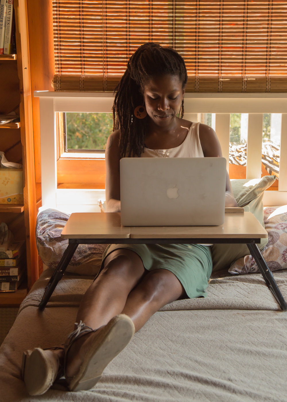 Laura has a BA in psychology and an MA and PhD in Counseling Psychology. When not at work as the Director of Residential and Community Life at the Center for Agroecology and Sustainable Food Systems (CASFS) at UC Santa Cruz, or spending time with family, Laura can be found with her laptop working on her small private practice. She teaches workshops and meditation and does mental health healing work, specifically with the Black community.