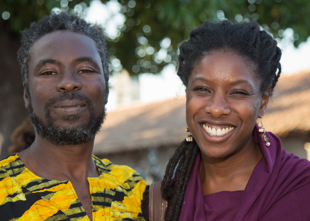Laura met her husband AJ, who came to the U.S. from Ghana as a teenager, when they were students at Bowling Green Universty.