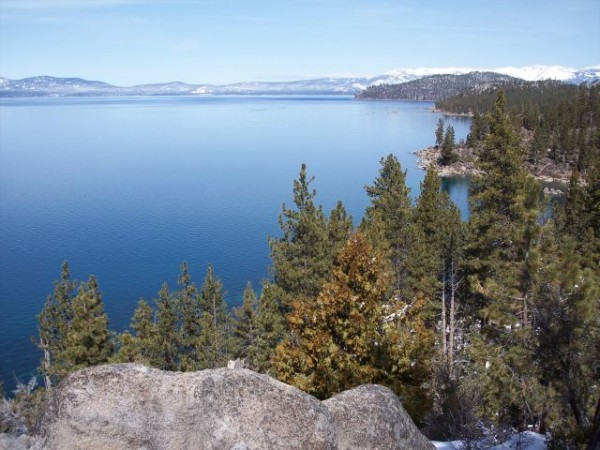 Lake Tahoe, from Nevada (wikimedia.org)