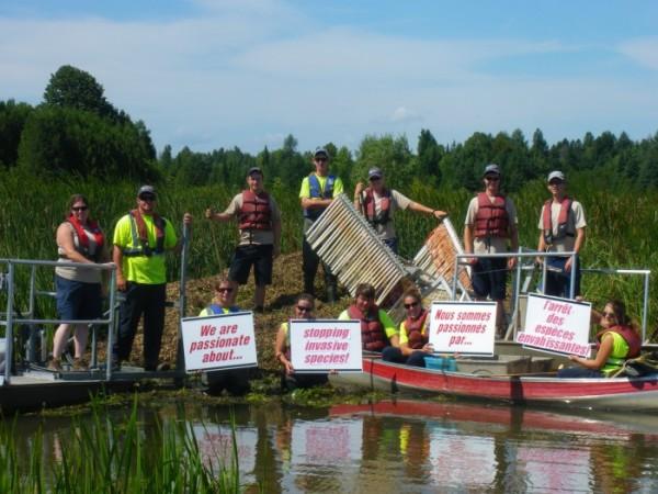Staff at Voyageur Provincial Park (parkreports.com)