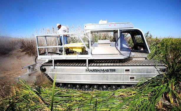 The Marsh Master (Photo: Laura Seitz, Deseret News, via ksl.com).