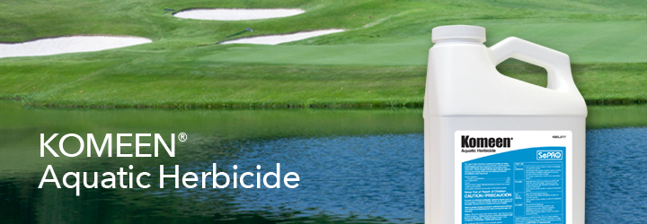 Komeen Aquatic Herbicide.