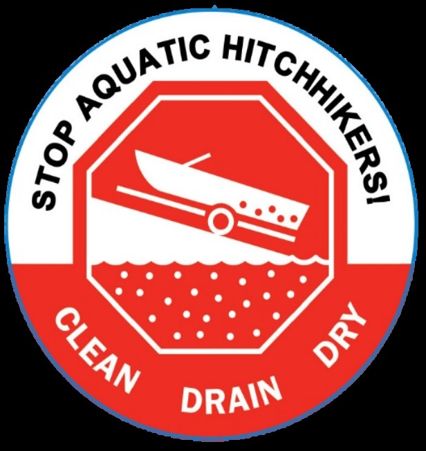 "A ""Clean, Drain, Dry"" button from wildlifeforever.org"