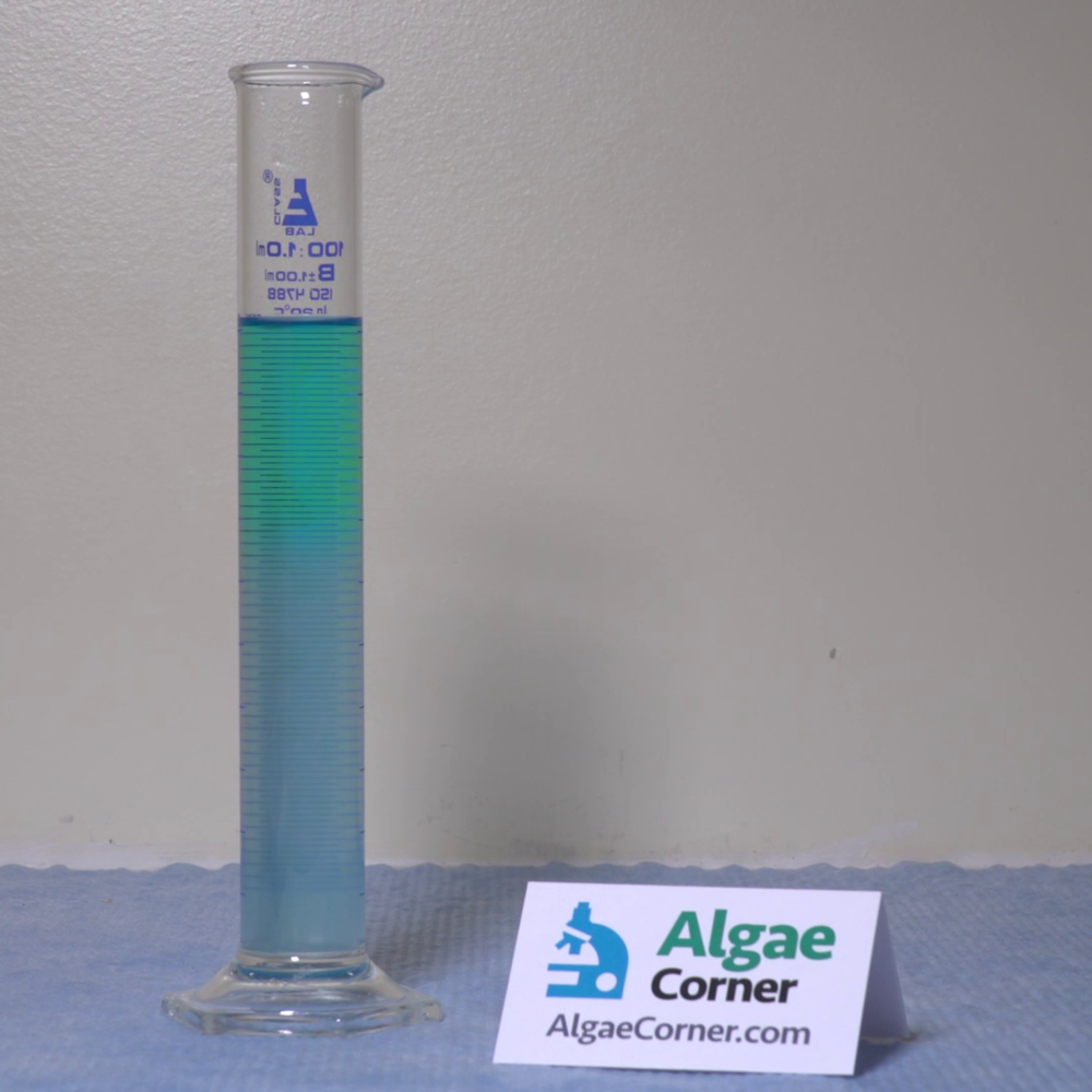 A lab demonstration after treatment with SeClear