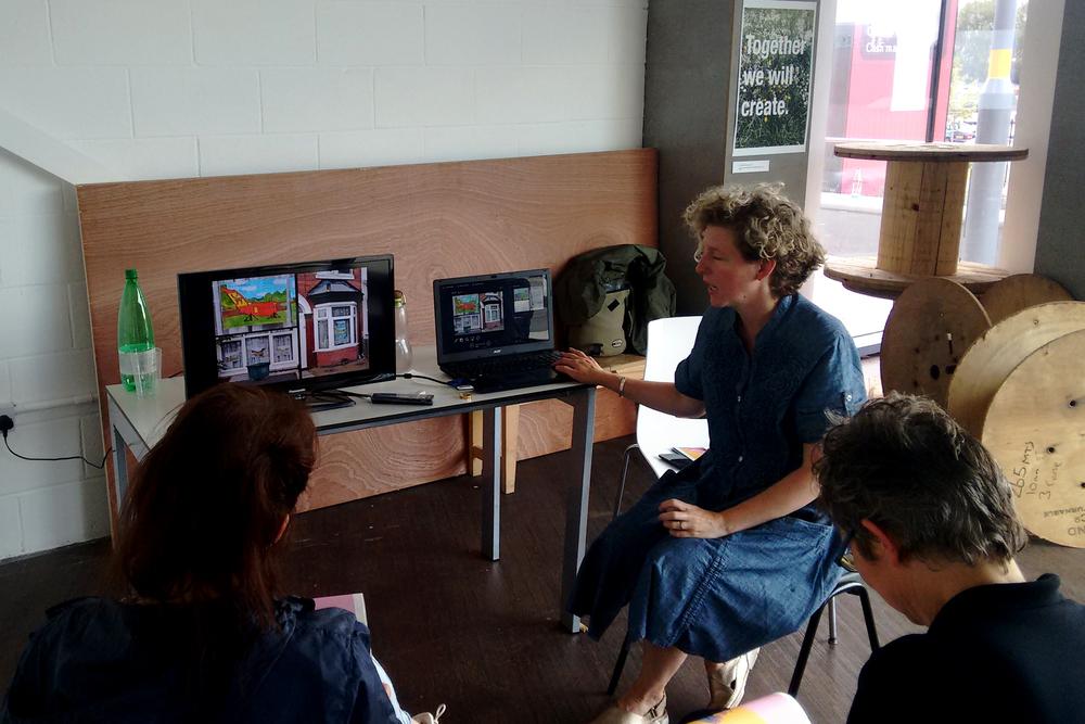 Artist talk by General Public