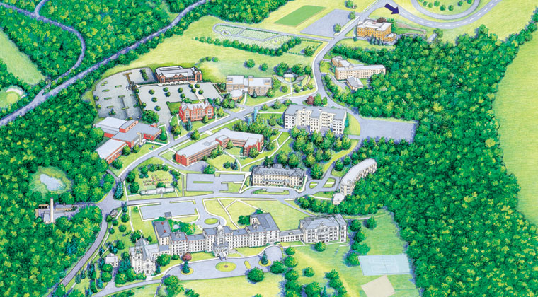 Click the image above to download the College campus map.