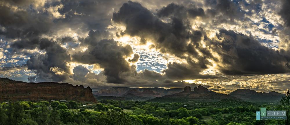 Sunrise over Sun Cliff