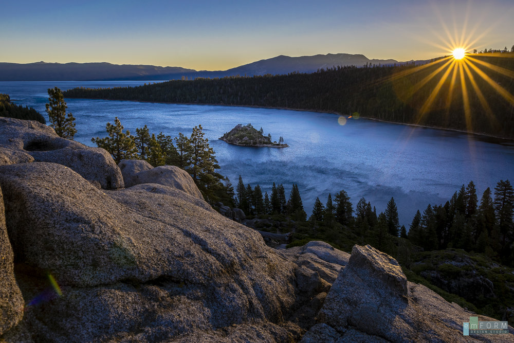 Emerald Bay Lake Tahoe CA 18mm - F11 - ISO100 - 1/125sec