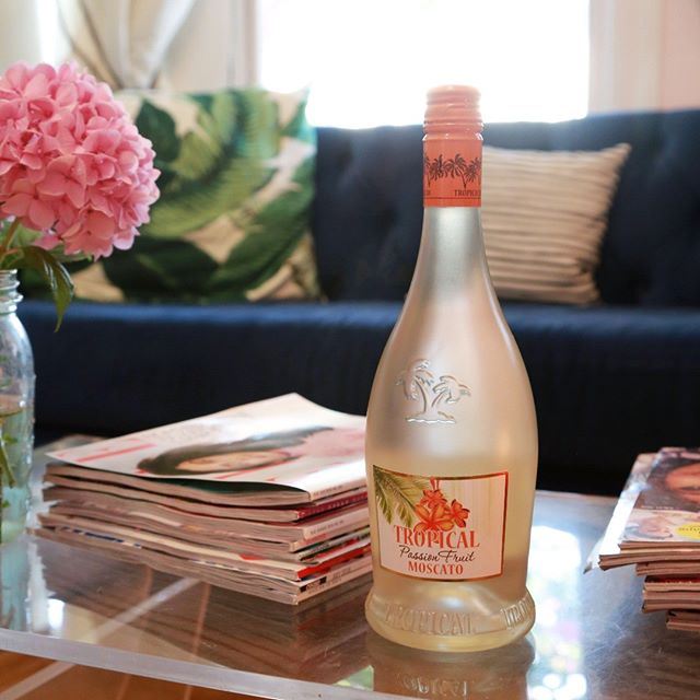 It's going to be a great evening for a girls' night in with a glass of Tropical Moscato. Cheers!  #wine #moscato #tropical #tropicalmoscato #whitewine #winelovers #ladiesnightin #paradiseinaglass # winelife #passionfruit #cheers