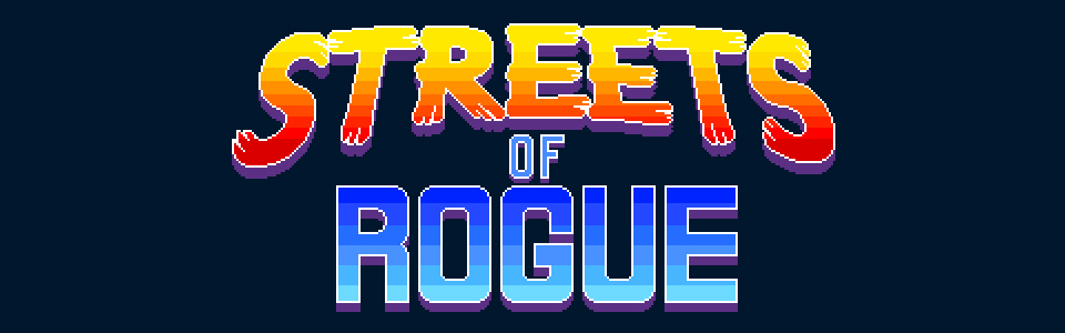 STREETS OF ROGUE  (PC) - Composer and Sound Designer.  Create peace or cause anarchy amongst the denizens of a bustling city.Play as a soldier, a scientist, a genial bartender... or a hyper-intelligent gorilla. ( Steam Early Access ).