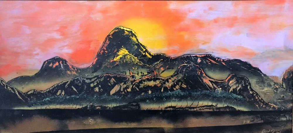 """Fire Mountain"" by Dwight Whaley"