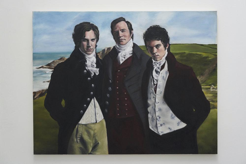 Three English Roses