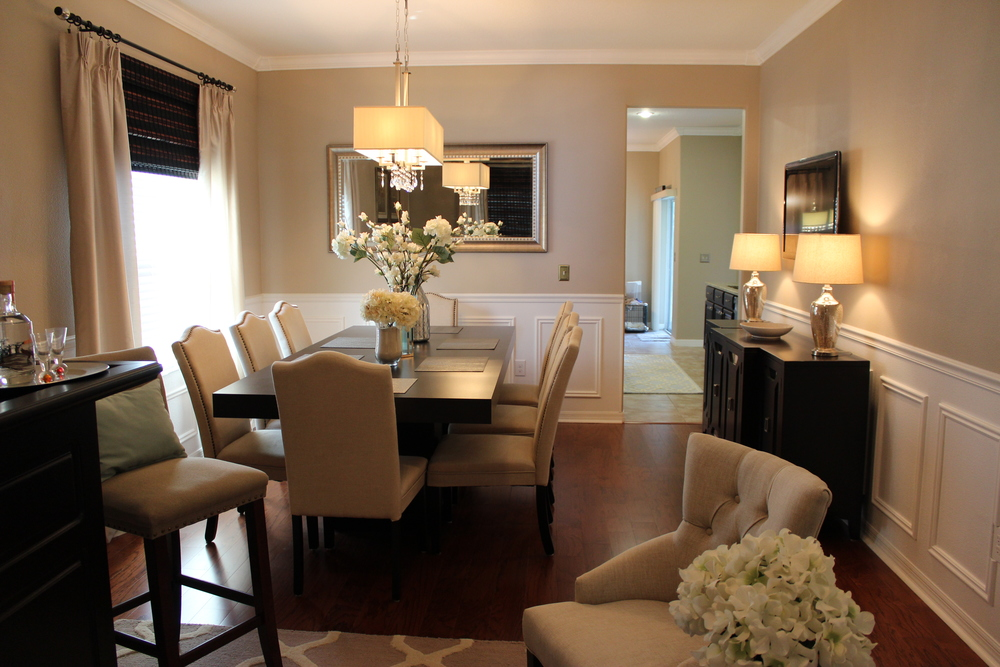 To Accomplish This I Used The Same Color Scheme Throughout My Downstairs Entertaining Area Living Room Dining Kitchen Give Feeling Of One