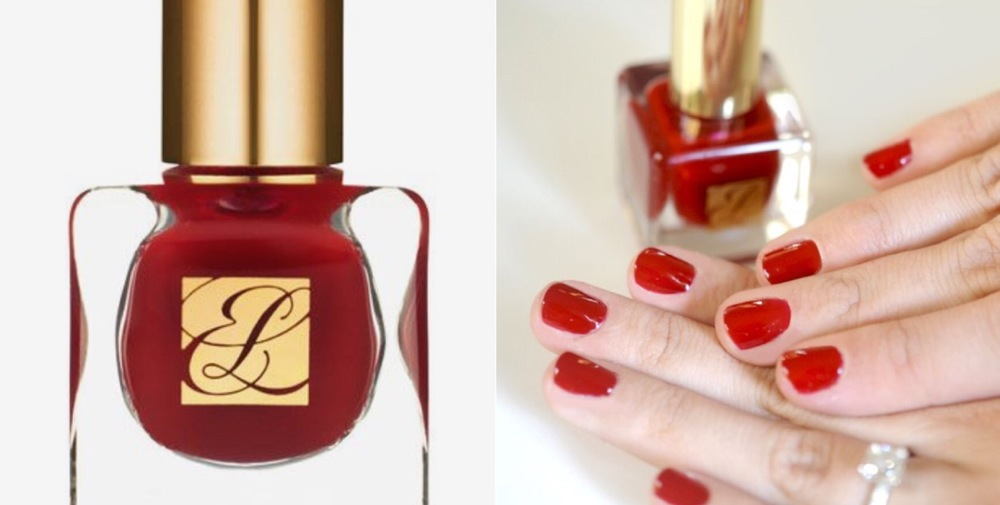 candy apple red nails