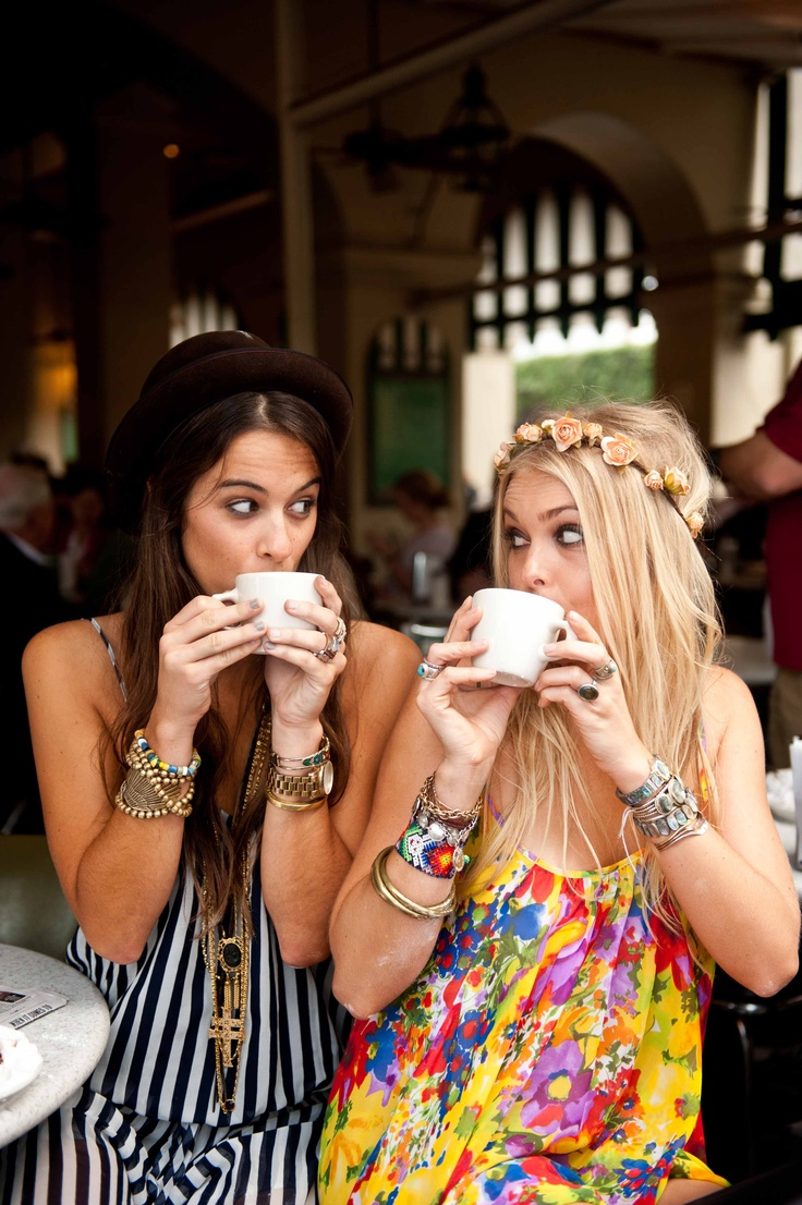 Coffee with girlfriends ways to make your day better