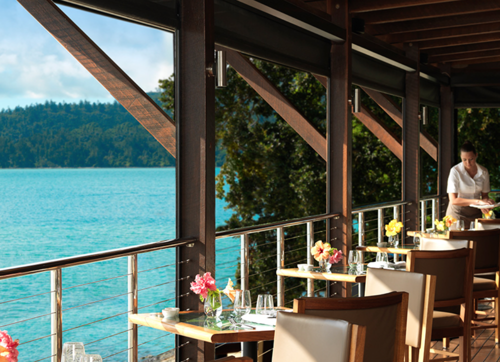 turquoise water island restaurant