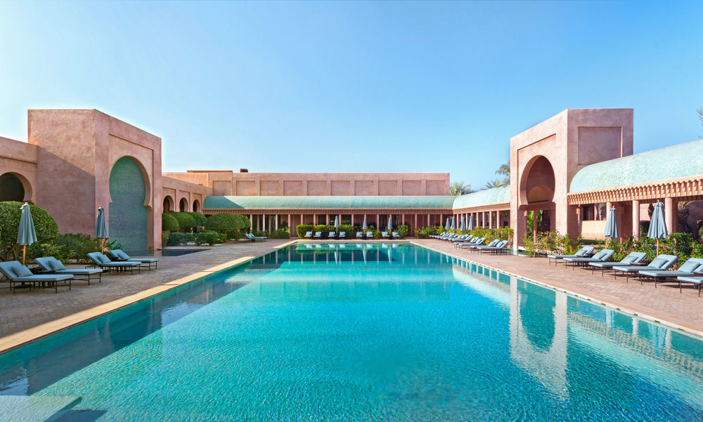 moroccan hotel pool