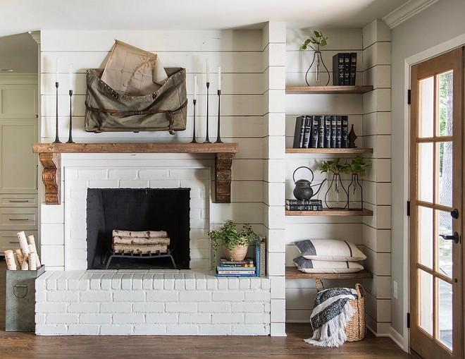 Farmhouse-Fireplace.-Farmhouse-Fireplace.-Fixer-Upper-Farmhouse-Fireplace.-HGTV-Fixer-Upper-Farmhouse-Fireplace-with-shiplap-reclaimed-wood-mantel-painted-brick-and-open-rustic-shelves.jpg