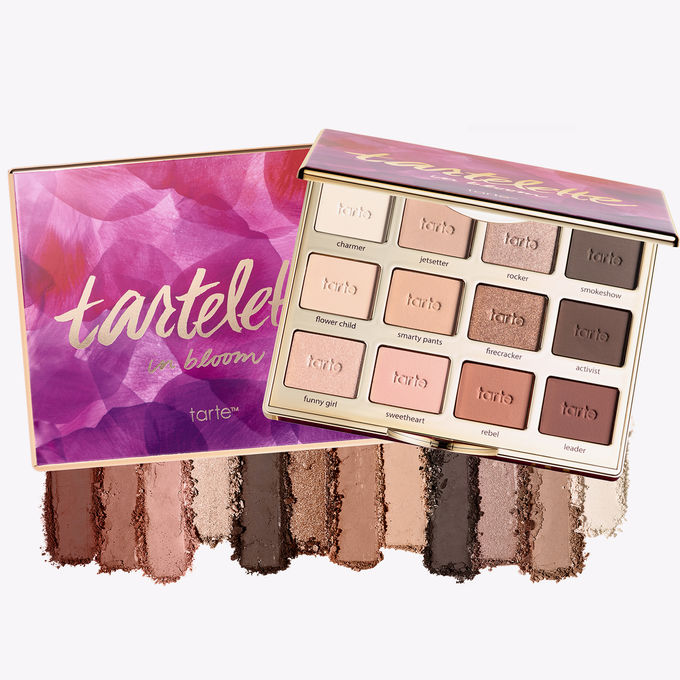 Tartelette in Bloom 2 Palette  - Any girl who loves beauty will love this high quality warm-toned assortment of 9 mattes & 3 delicate shimmers ranging from soft nudes to deep chocolates. SPLURGE at $47! / STEAL Jaclyn Hill X Morphe Palette's for $35!