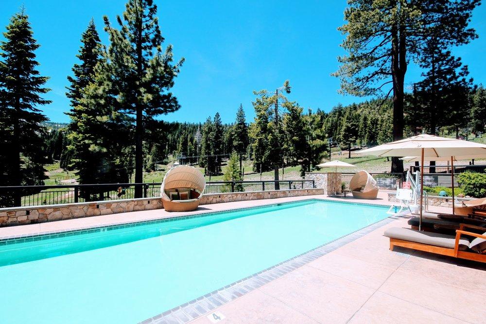 Pool at Ritz-Carlton Spa