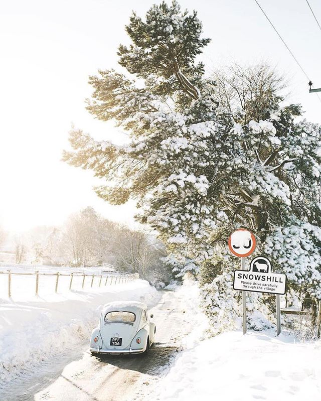 Where will 2018 take you? ❄️🚗 | via @anthropologie