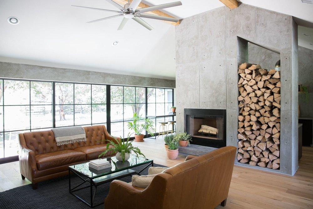 Concrete-fireplace-modern-farmhouse.