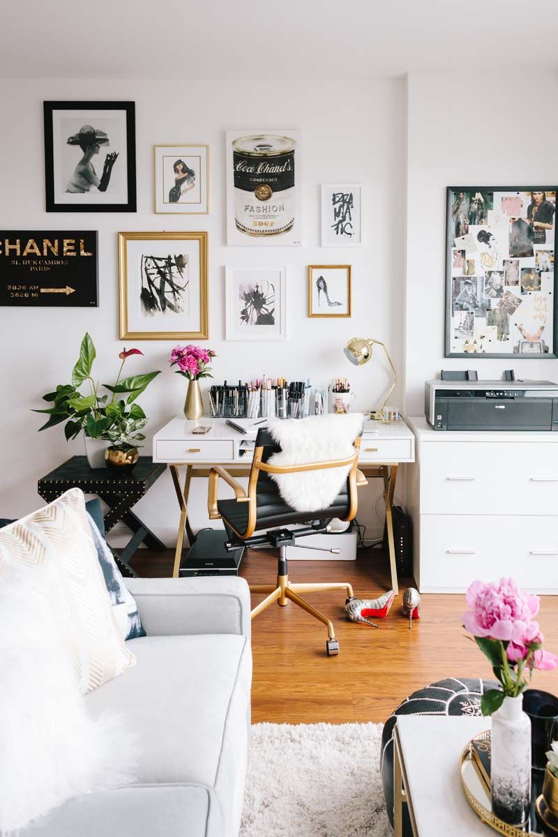 11 Chic Ways To Make Your Office Space Way More Inviting