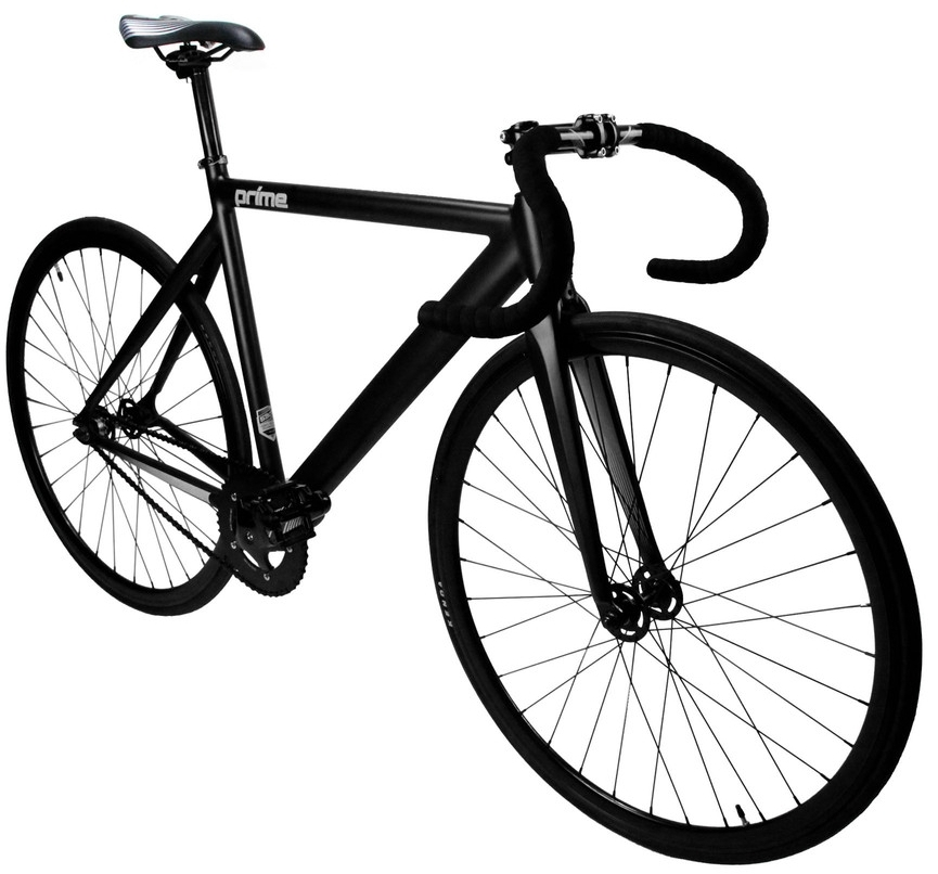 ZYCLE FIX PRIME $350   Black matte frame, black wheels, drop handlebars. Available in 48cm, 52cm, 55cm, and 59cm