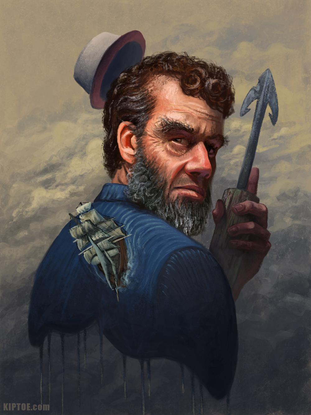 """Captain Ahab"""