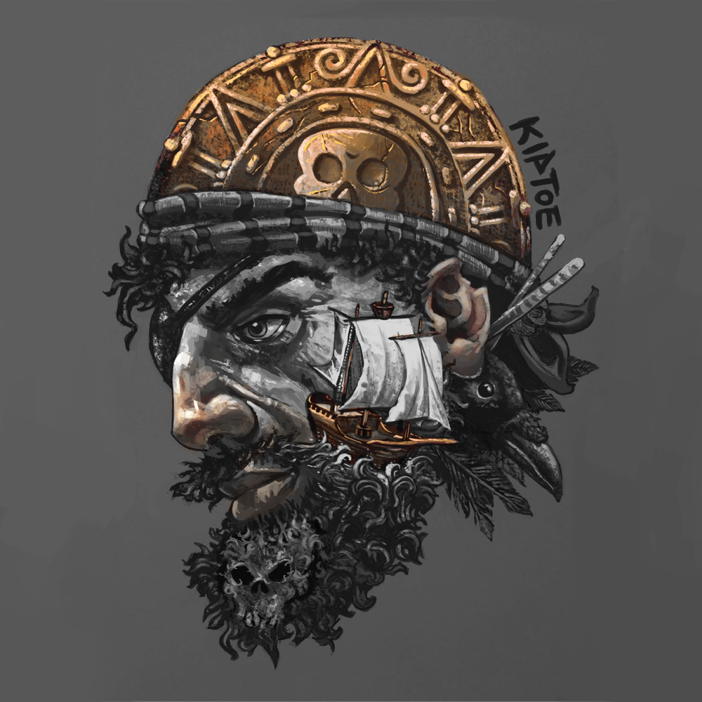 """Pirate Portrait"""