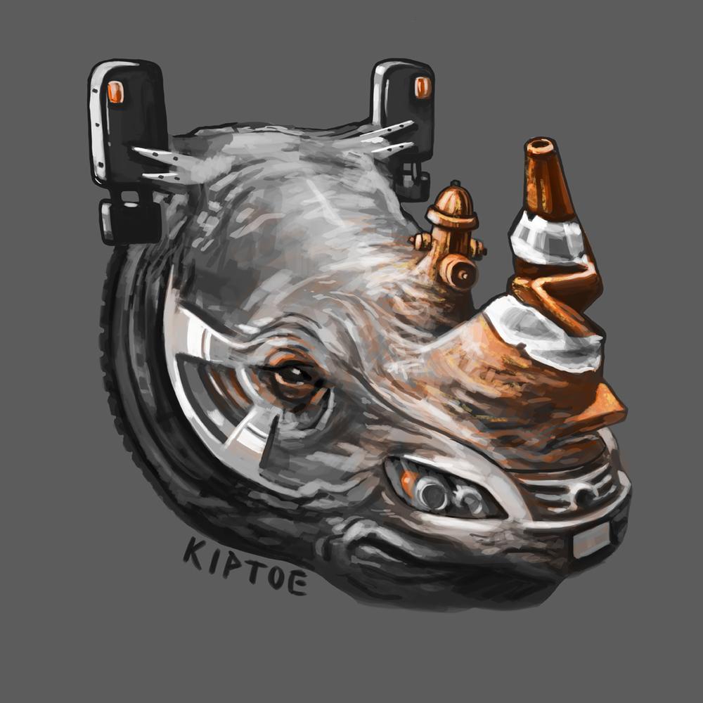 """Urban Rhino"""