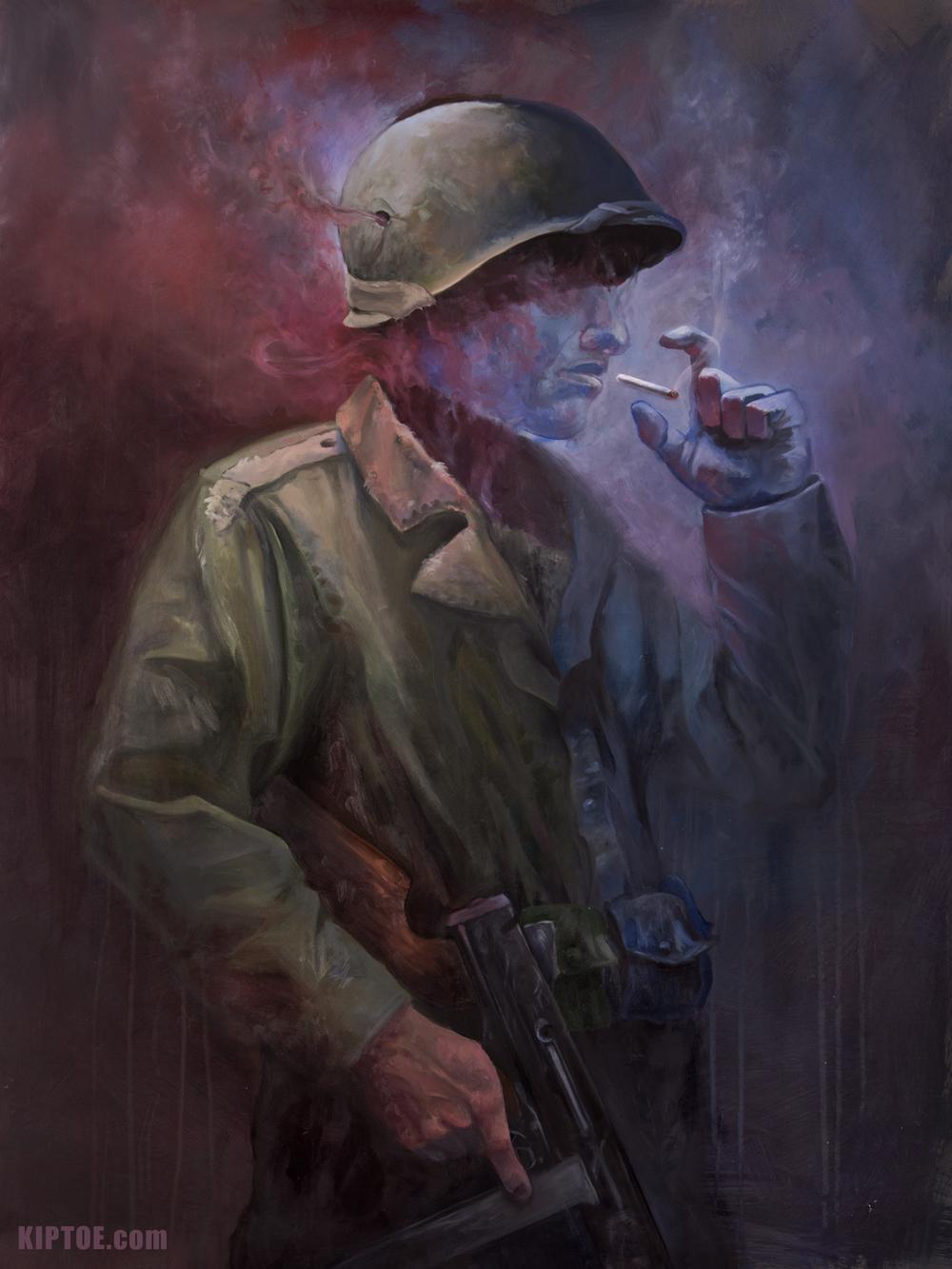 """The Last Smoke"""