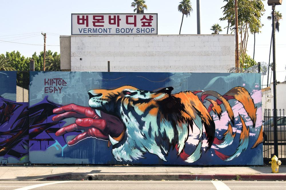 """Tiger Punch"""