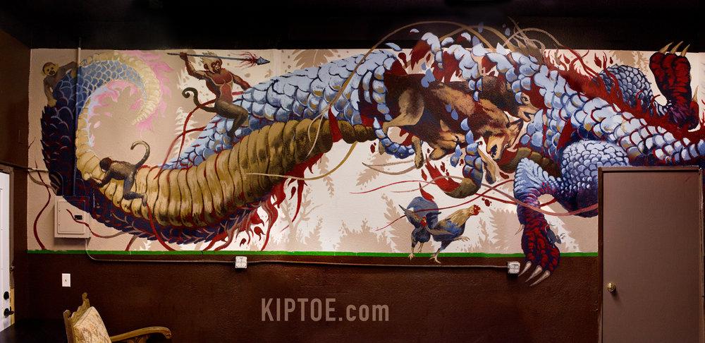 Dragon detail 1