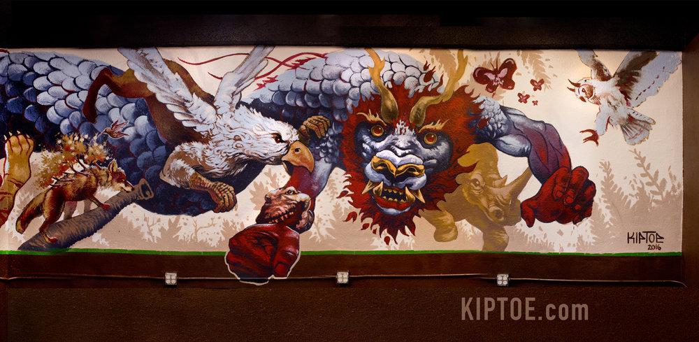 Dragon detail 3