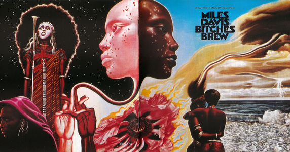 Bitches Brew Full Cover Art by Miles Davis